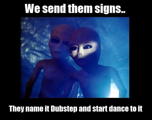 Meme Alien Message Rather Rad