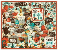 gastro bar - http://www.behance.net/gallery/Menu-Cover/5516587
